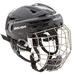 Bauer RE-AKT 150 Helm Combo mit Gitter schwarz