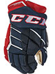 CCM Jetspeed FT390 Handschuh LE Junior navy-rot-weiss