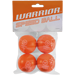 Warrior Mini Speed Hockey Ball 4er Pack