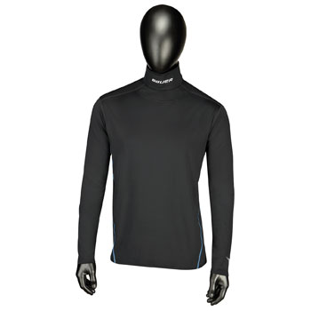 Bauer Core LS Integrated Neck Top - Senior