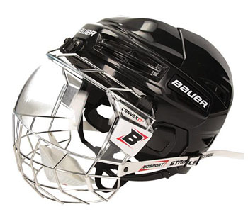 Bauer IMS 5.0 Helm + Vollvisier BoSport Senior (Bundle)