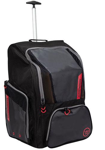 Warrior Pro Rollen Rucksack - Roll Backpack schwarz rot